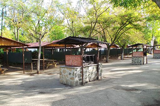 camping getafe barbacoa